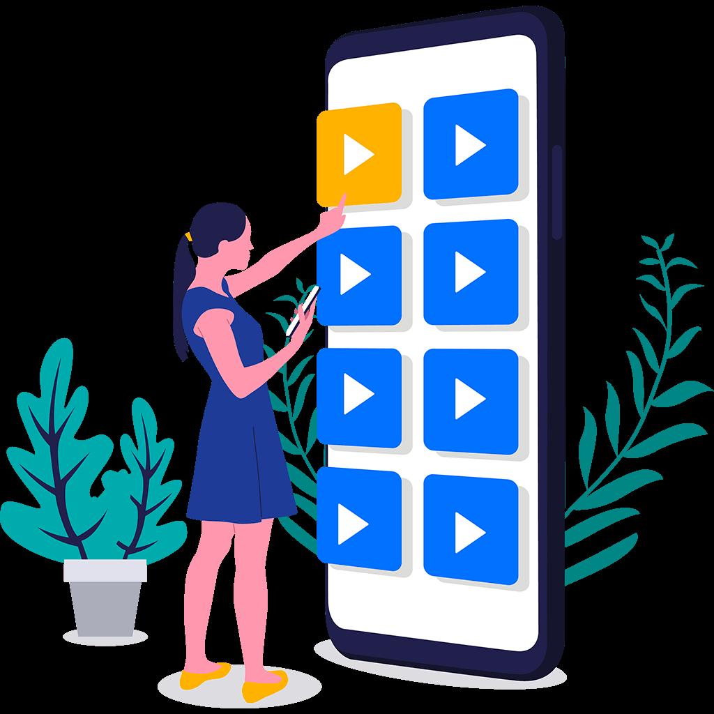 choix vidéos monétisées